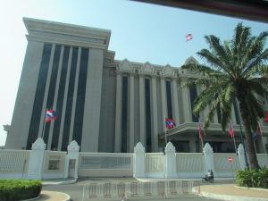 Salah satu bangunan yang ada di Phnom Penh