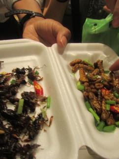 Tumisan serangga ini punya cita rasa mirip dengan Tumis Kangkung.